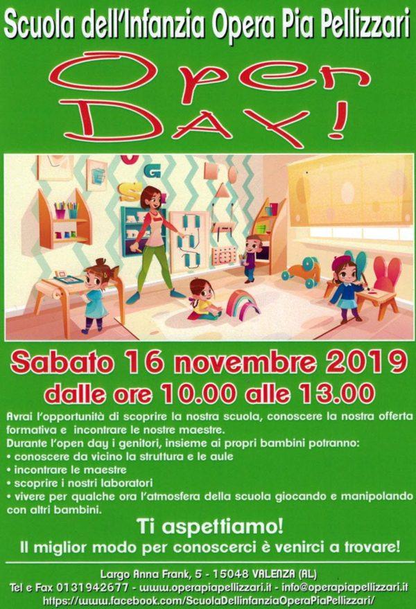 Locandina Open Day 21019